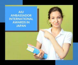AIU Ambassador International Awards in Japan