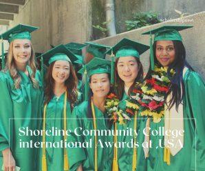 Shoreline Community College international Awards at ,USA