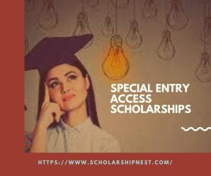Special Entry Access Scholarships for Australian / New Zealand in Australia