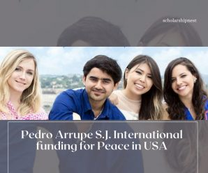 Pedro Arrupe S.J. International funding for Peace in USA