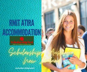 RMIT Atira Accommodation Support Scholarships, Australia ,New Zealand